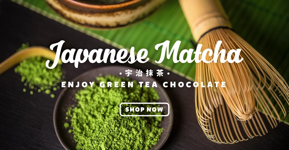 Japanese Matcha (green tea) Chocolate
