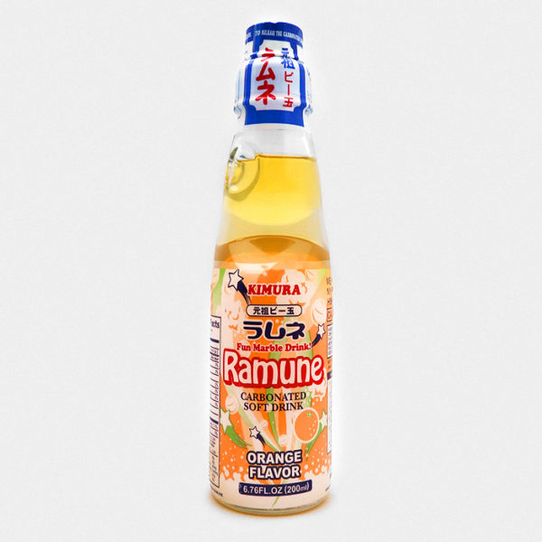 Kimura Ramune Soda Orange