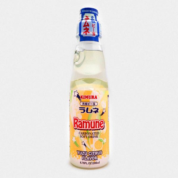 Kimura Ramune Soda Yuzu Citrus