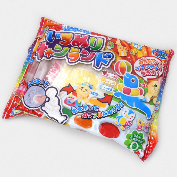 Popin' Cookin' DIY Candy IRONURI Colorful Peace Candy Land