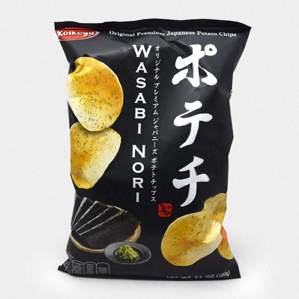 Wasabi Nori Crisps
