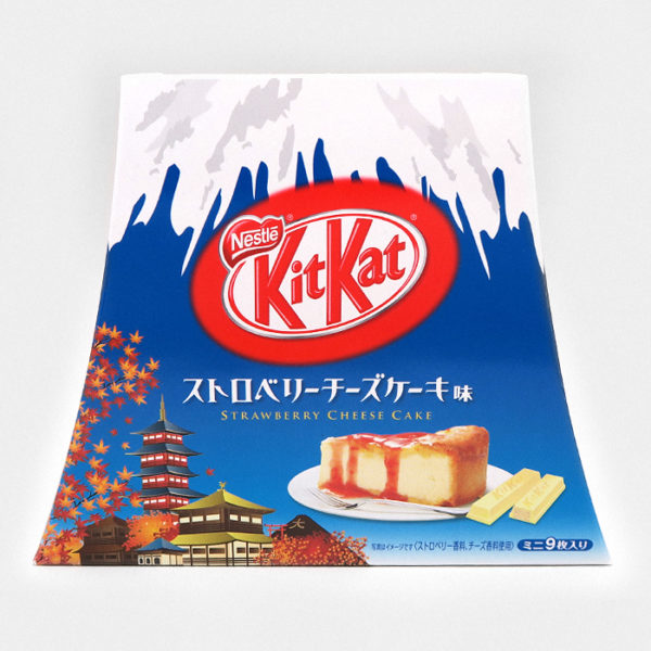 Mt. Fuji Strawberry Cheesecake Kit Kat