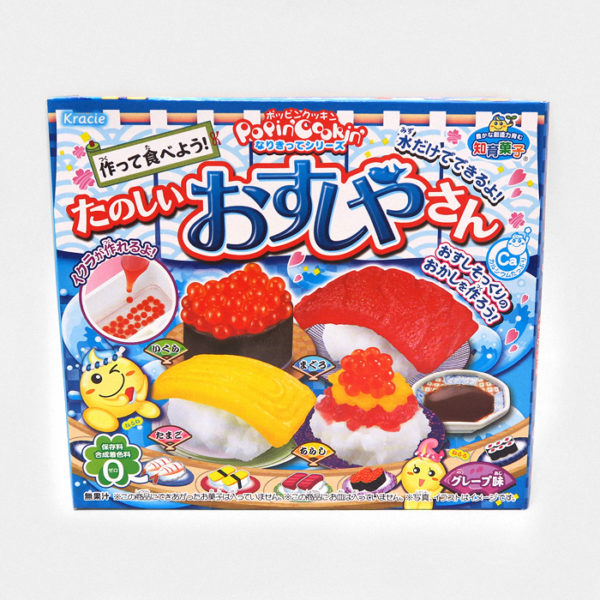 Popin' Cookin' DIY Candy Sushi Set