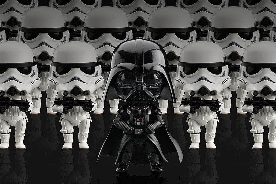 Stormtrooper and Darth Vader Nendoroid