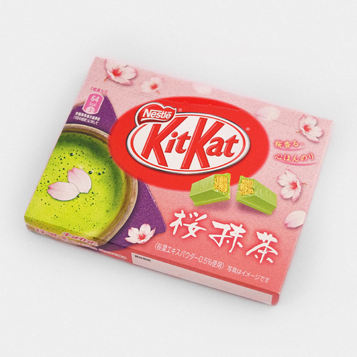 Sakura Matcha Kit Kat