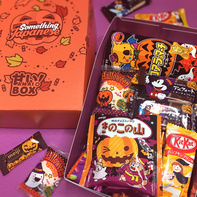 Halloween Japanese Snacks Box