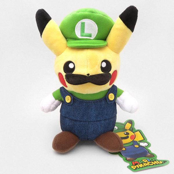 Luigi Pikachu Plushie