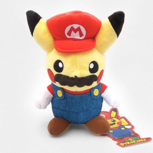 Mario Pikachu Plushie