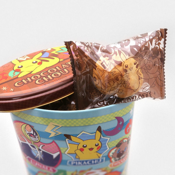 Pokémon Sun and Moon Chocolate Chou Tin