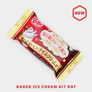 Baked Ice Cream Kit Kat