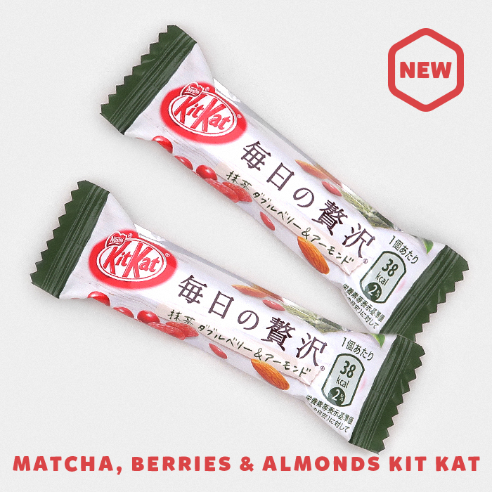 Matcha Berries & Almonds Kit Kat