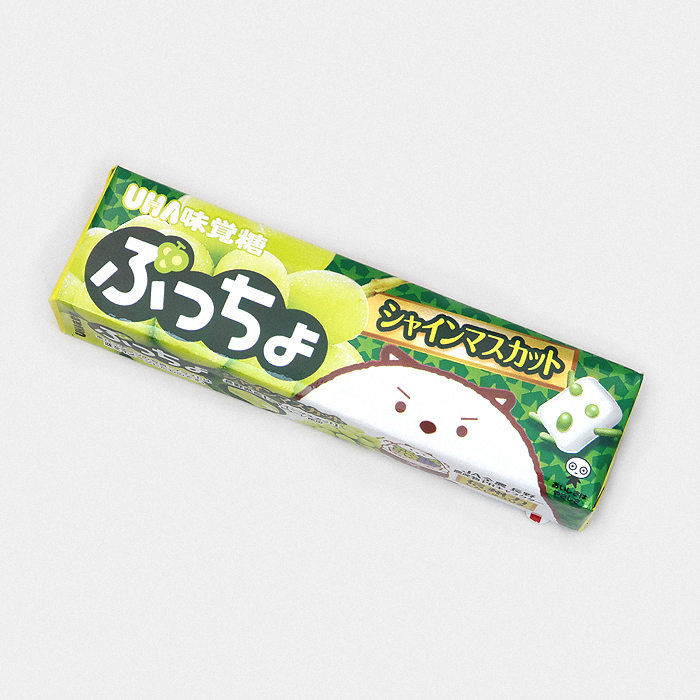 Puccho Chewy Candy - White Grape