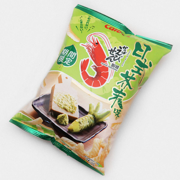 Calbee Prawn Crackers Wasabi