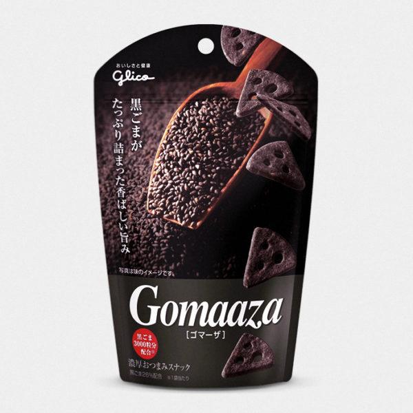Gomaaza Crackers - Black Sesame