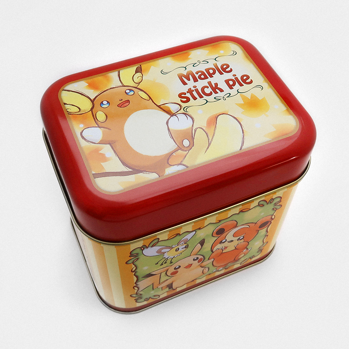 Pokémon Maple Stick Pie Tin
