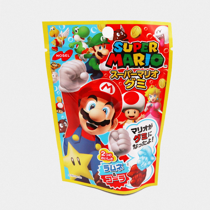 Super Mario Gummy Candy
