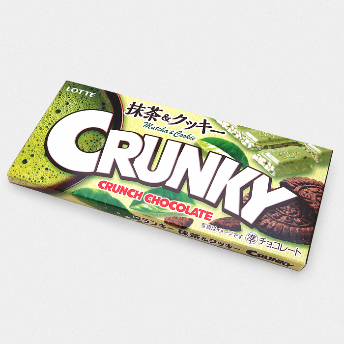 Matcha Green Tea & Cookie Crunky