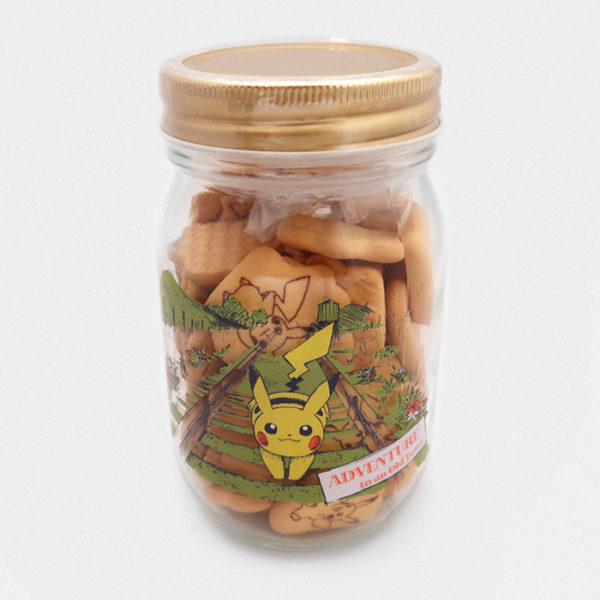Pikachu (Adventure to an old town) Cookie Jar