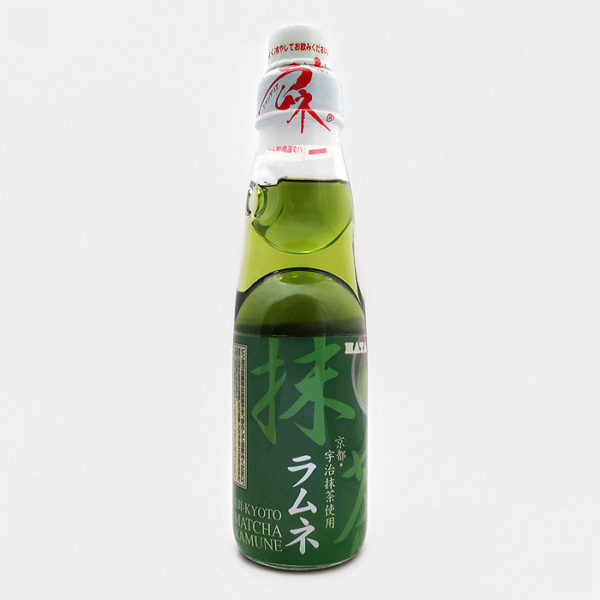 Hatakosen Ramune Soda Matcha (green tea)