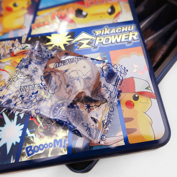 Pokémon Ash's Pikachu Cookie Tin