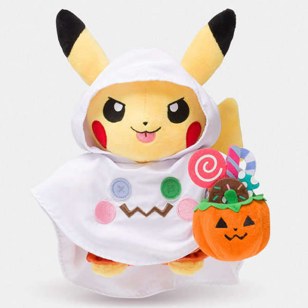 Pokémon Center Halloween Ghost Pikachu Plush