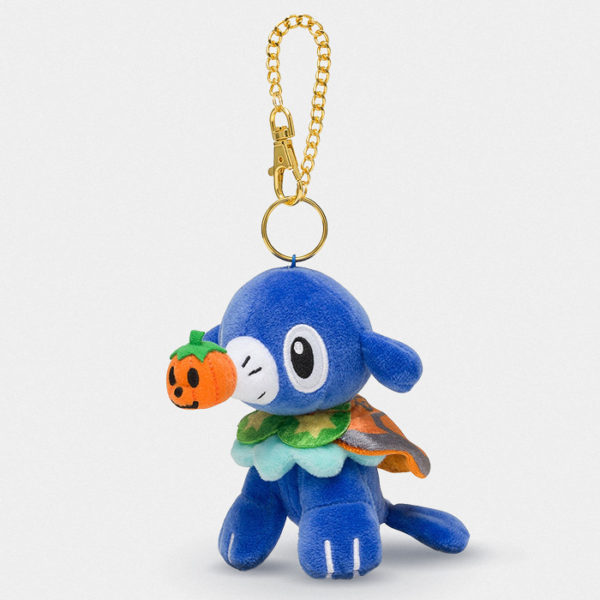 Pokémon Center Halloween Popplio Keychain Plush