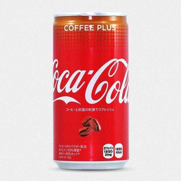 Japanese Coca Cola Coffee Plus
