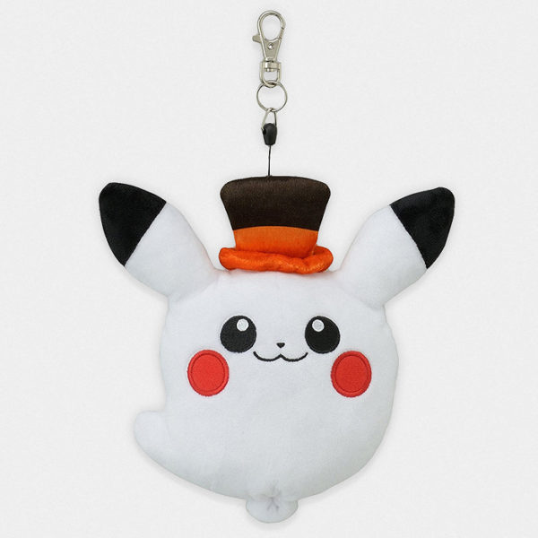 Pokémon Center Halloween Ghost Pikachu Plush Pass Case