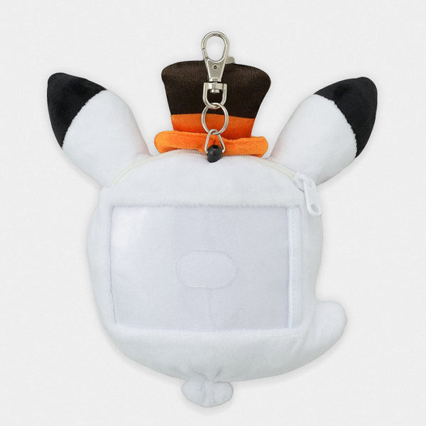 Pokémon Center Halloween Ghost Pikachu Plush Pass Case