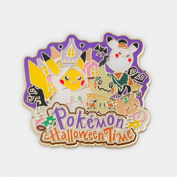 Pokémon Center Halloween Time Pin Badge