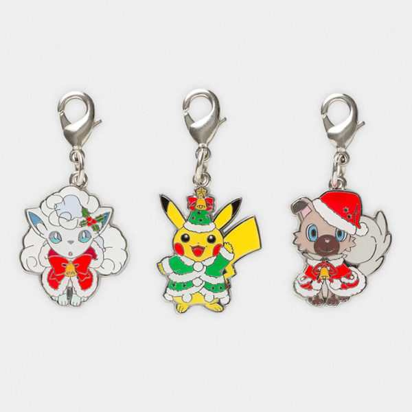 Pokémon Christmas 2017 Charm Set