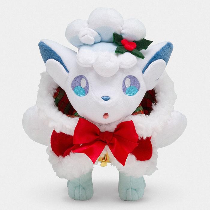 Pokémon Christmas Alolan Vulpix Plush