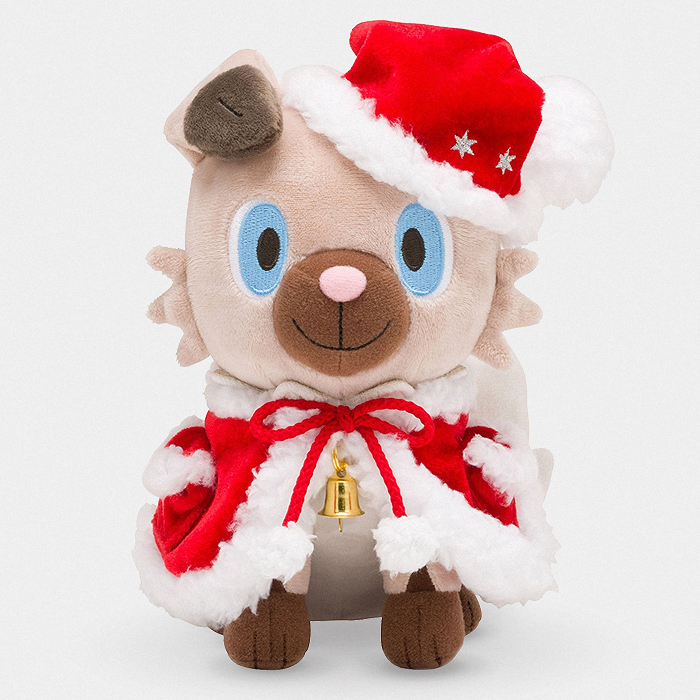 Pokémon Christmas Rockruff Plush