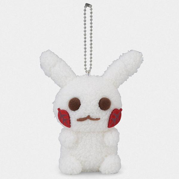 Pokémon Christmas Snowman Pikachu Keychain Plush
