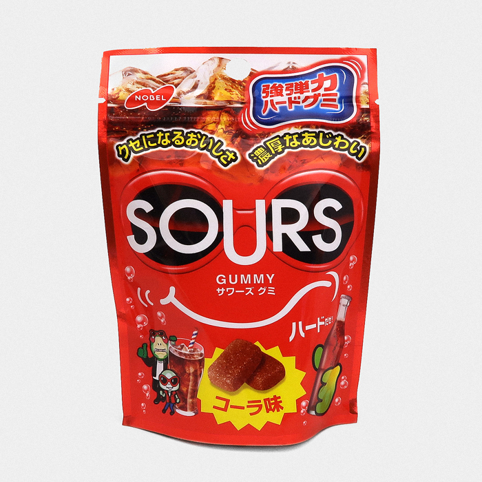 Cola Sours Gummy Candy