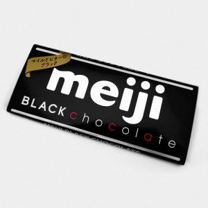 Meiji Black Chocolate Bar