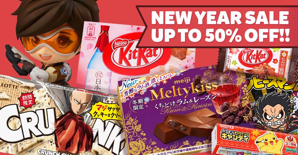 SomethingJapanese.com New Year Sale
