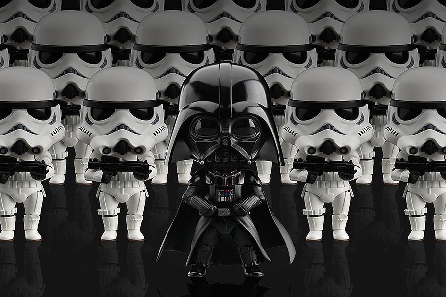 Stormtrooper and Darth Vader Nendoroid