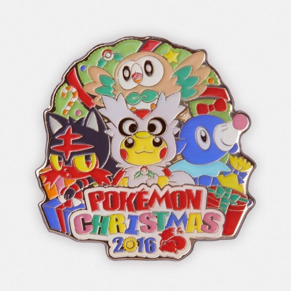 Pokémon Christmas 2016 pin