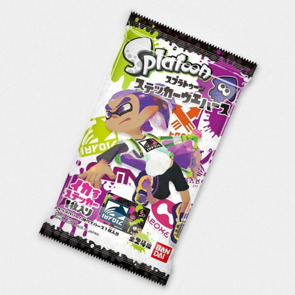Splatoon Chocolate Wafer