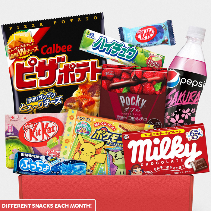 AmaiBox Giga: Monthly Japanese Candy Box