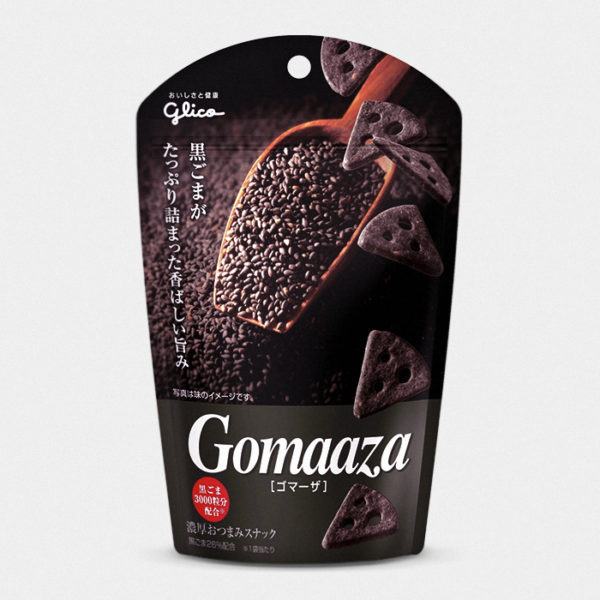 Gomaaza Crackers - Black Sesame