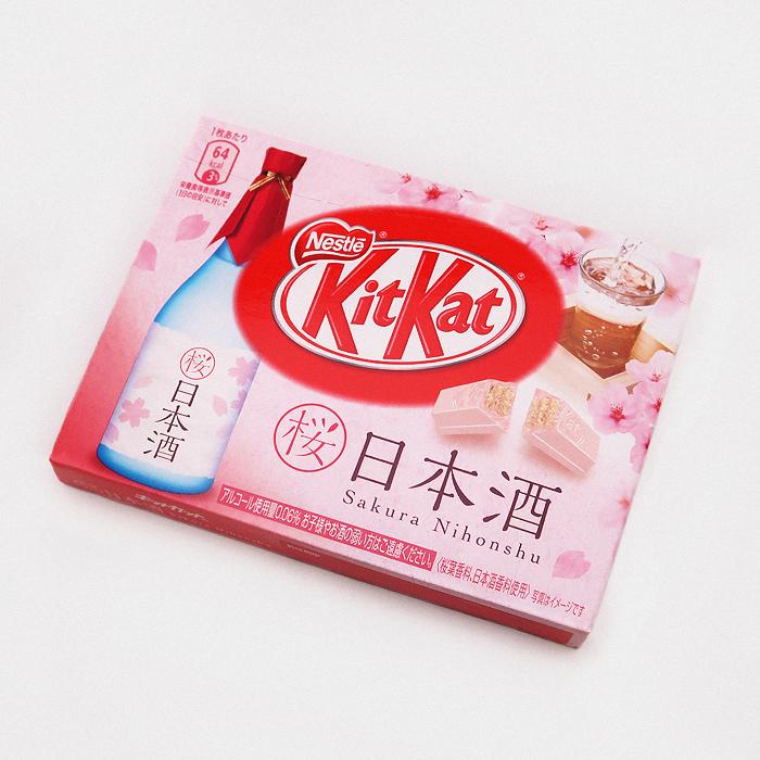 Sakura Nihonshu (Sakura Sake) Kit Kat