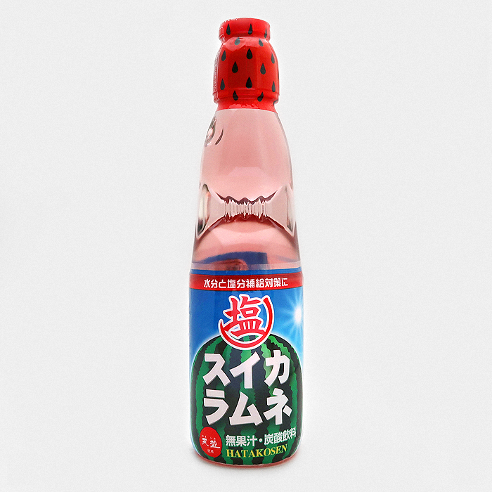 Hatakosen Ramune Soda Salted Watermelon