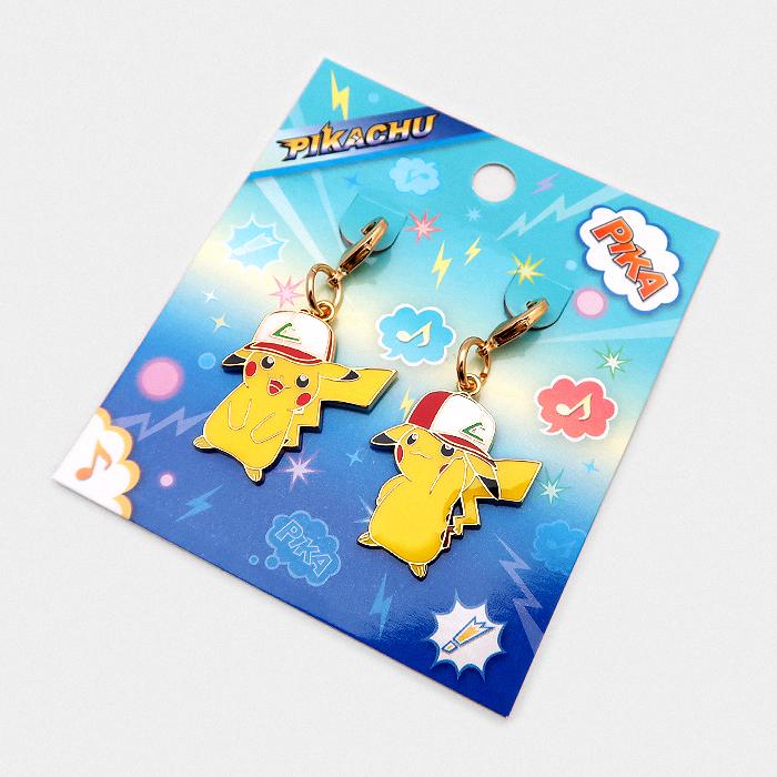 Pokémon Ash's Pikachu Charm Set