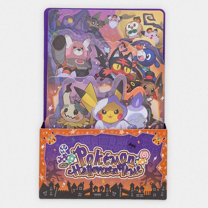 pokémon halloween die cut memo set something japanese