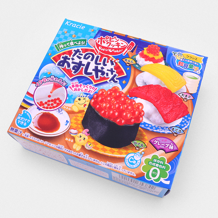 Popin' Cookin' DIY Candy Sushi