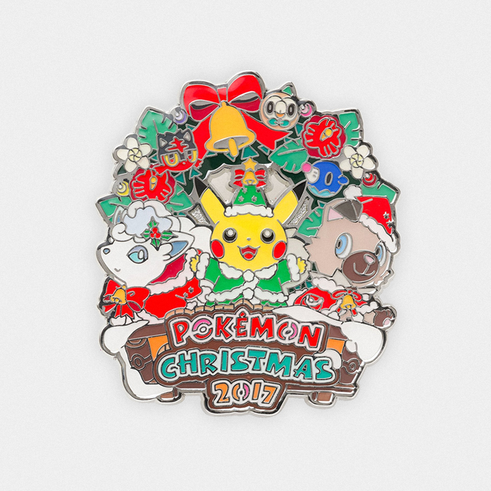 Pokémon Christmas 2017 Pin