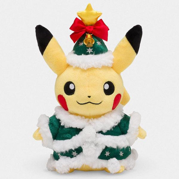 Pokémon Christmas Tree Pikachu Plush