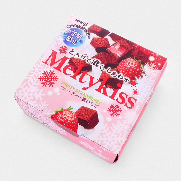 MeltyKiss - Fruity Strawberry Chocolate